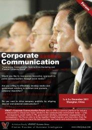 Corporate Communication - Gartner Communications | Strategic ...