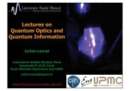 Lectures on Quantum Optics and Quantum Information