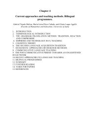Chapter 4 Current approaches and teaching methods. Bilingual ...