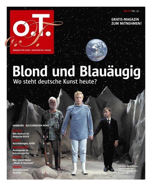 Deutsche blond und blauäugig