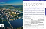 the chamber's - Chattanooga Area Chamber of Commerce