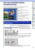 Sony DSC-T99D - DSC-T99D Istruzioni per l'uso Svedese - Page 2