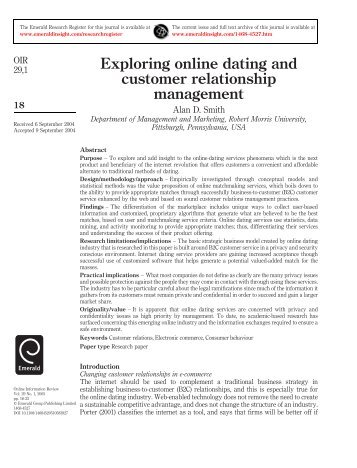 How To Start Up An Online Dating Service