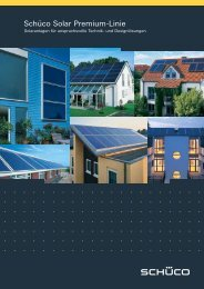 Schüco Solar Premium-Linie - Loma Solar