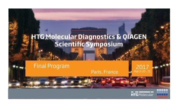 HTG Molecular Diagnostics & QIAGEN Scientific Symposium