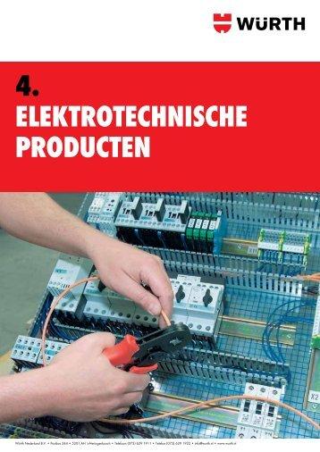 4 Elektrotechnische producten
