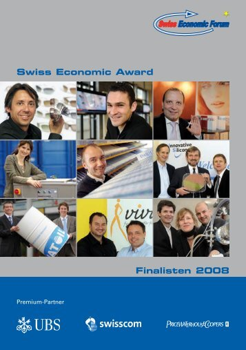 Swiss Economic Award Finalisten 2008