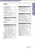 Sony NWZ-E435F - NWZ-E435F Istruzioni per l'uso Ceco - Page 4