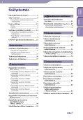 Sony NWZ-E435F - NWZ-E435F Istruzioni per l'uso Finlandese - Page 4