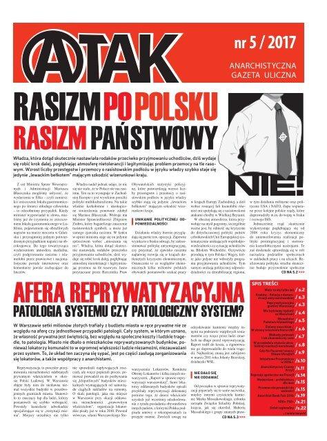 A-tak // Anarchistyczna Gazeta Uliczna // nr 5