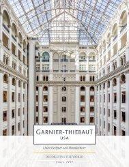 Garnier-Thiebaut USA - Hospitality catalog