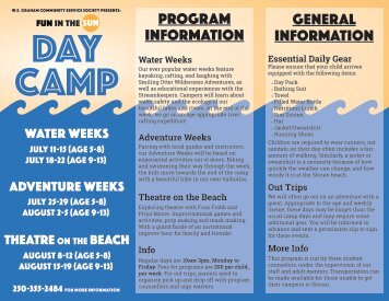 Day Camp 2016 Brochure Flat