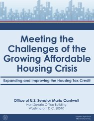 Meeting the Challenges of the Growing Affordable Housing Crisis