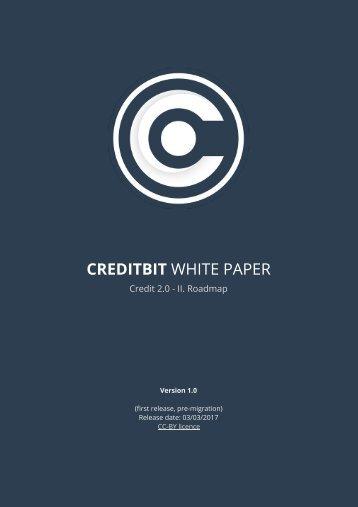 CREDITBIT WHITE PAPER