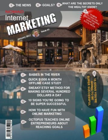 Nomad Internet Marketing Magazine January 2017 Issue 01