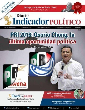 PRI 2018 Osorio Chong la última oportunidad política