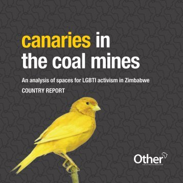 canaries in the coal mines