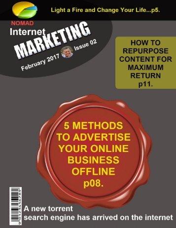 Nomad Internet Marketing Magazine February 2017 Issue-02