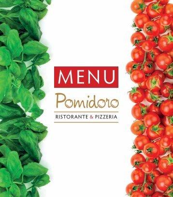 Меню Pomidoro