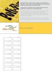 Musterkarte POLI-FLEX NYLON - POLI-TAPE Klebefolien GmbH