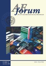 AE Forum 6