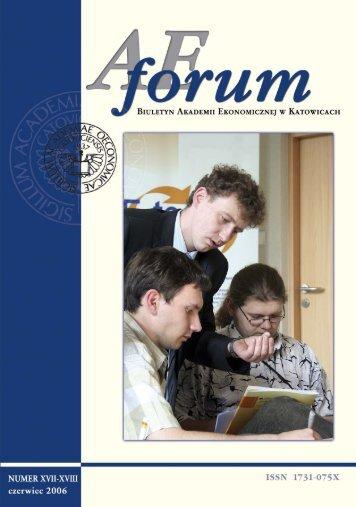 AE Forum 17 18