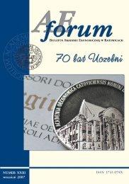 AE Forum 23