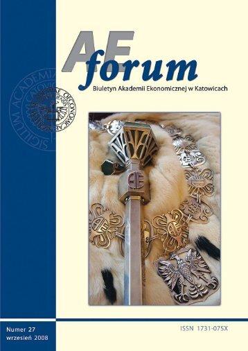 AE Forum 27