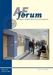 AE Forum 29