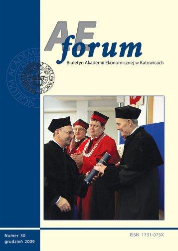 AE Forum 30