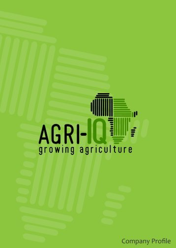 Agri-IQ Company Profile (Font 12)