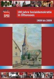 100 Jahre Sozialdemokratie in Ottensoos 100 Jahre - spdottensoos.de