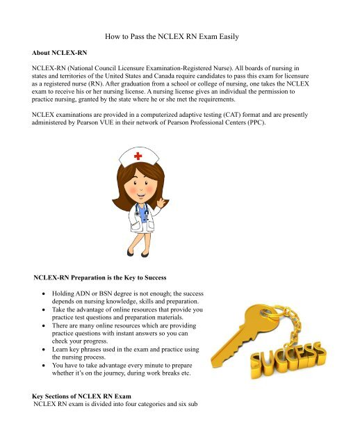 NCLEX Exam Preparation and Practice Tips