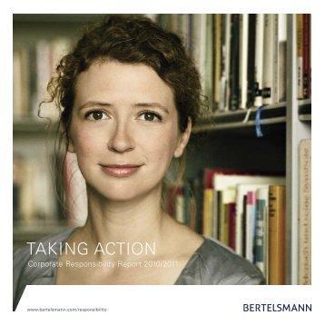 CR Report 2010/2011 - Bertelsmann AG