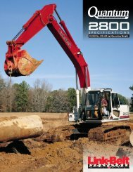 (20 600 Kg) Operating Weight - LBX Company LLC