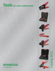 Rennsteig Catalog - United Electric Solar, Wholesale Distributor of ...