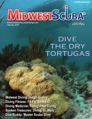 DIVE THE DRY TORTUGAS - Midwest Scuba Diving Magazine