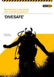 Recreational SCUBA Diving - WorkSafe Victoria