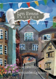 LYN EVANS TRADE CATALOGUE