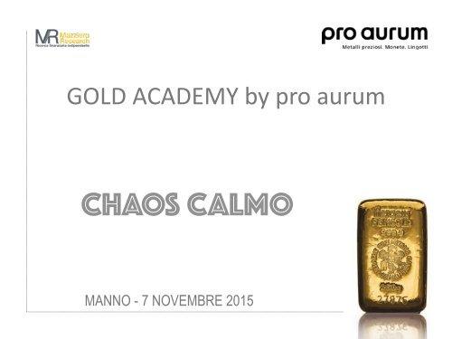 07.11.2015  - CHAOS CALMO