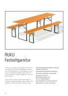 RUKU Klappmöbel Katalog - 2016 (Version 4) - Page 4