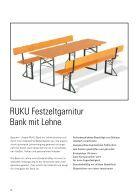 RUKU Klappmöbel Katalog - 2016 (Version 4) - Page 6