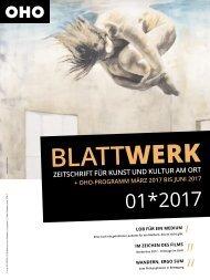 BLATTWERK AUSGABE 01*2017