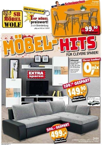 SB Möbel Wolf -  Möbel-Hits für clevere Sparer