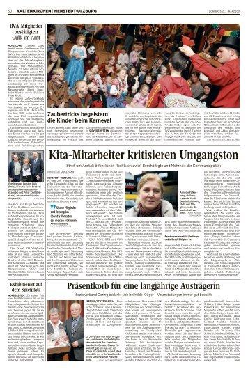 Kita-Mitarbeiter kritisieren Umgangston
