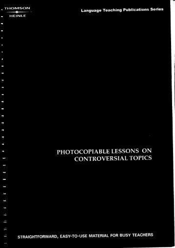 Richard MacAndrew, Ron Martinez-Taboos and Issues_ Photocopiable Lessons on Controversial Topics (LTP instant lessons)-Heinle ELT (2001)