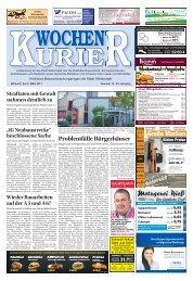 Wochen-Kurier 10/2017 - Lokalzeitung für Weiterstadt und Büttelborn