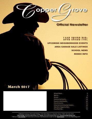Copper Grove March 2017