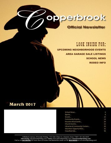 Copperbrook March 2017