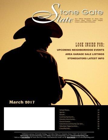 Stone Gate March 2017